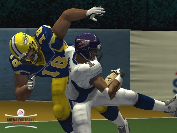 Arena Football Video Game 2008 Road to Glory