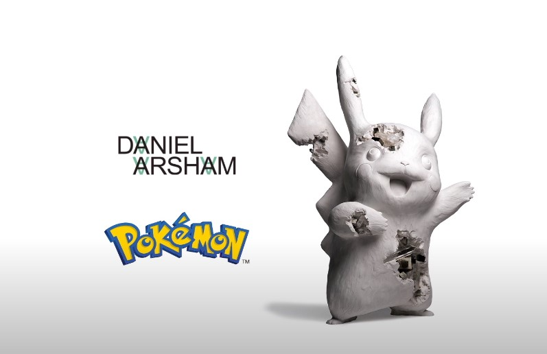 Uniqlo collabs with Daniel Arsham on new Pokemon wear