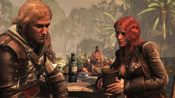 Assassin's Creed IV Black Flag screen