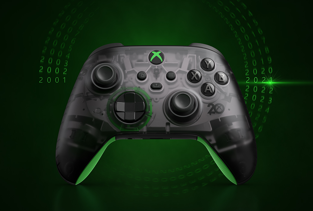 Xbox partners with Adidas, Trolli and others for 20th Anniversary products
