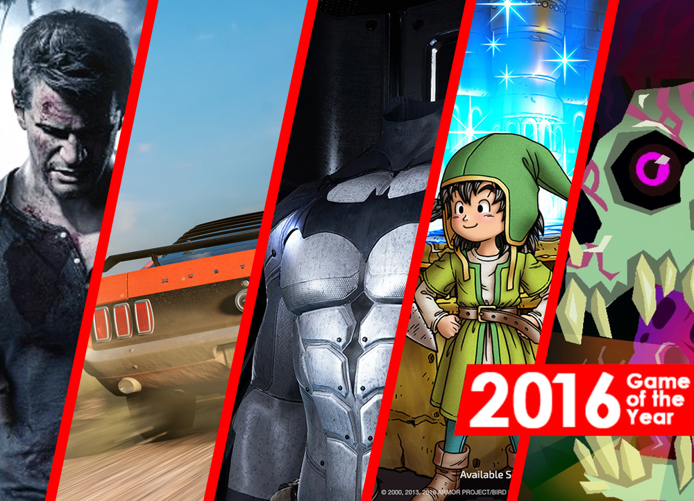 Dali's Favorite Games of 2016