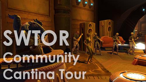 SWTOR Bioware PAX Prime Community Cantina Tour party 2013