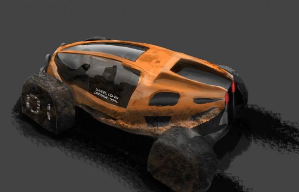 Martin Blackburn's Race Buggy