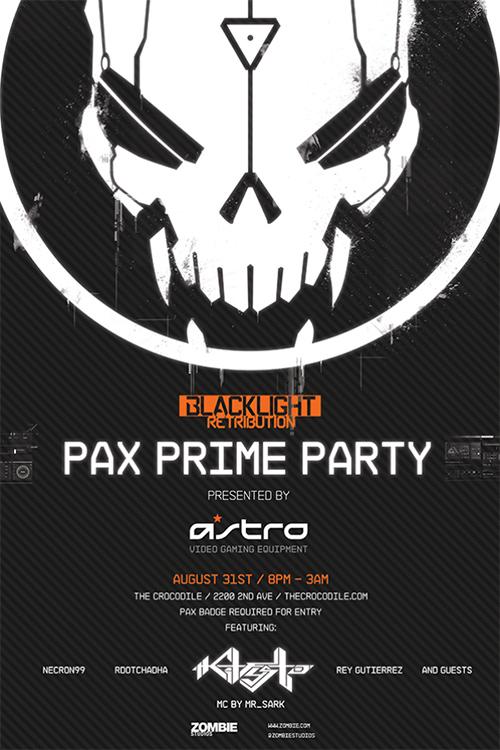 Blacklight Retribution PAX Prime Party 2013