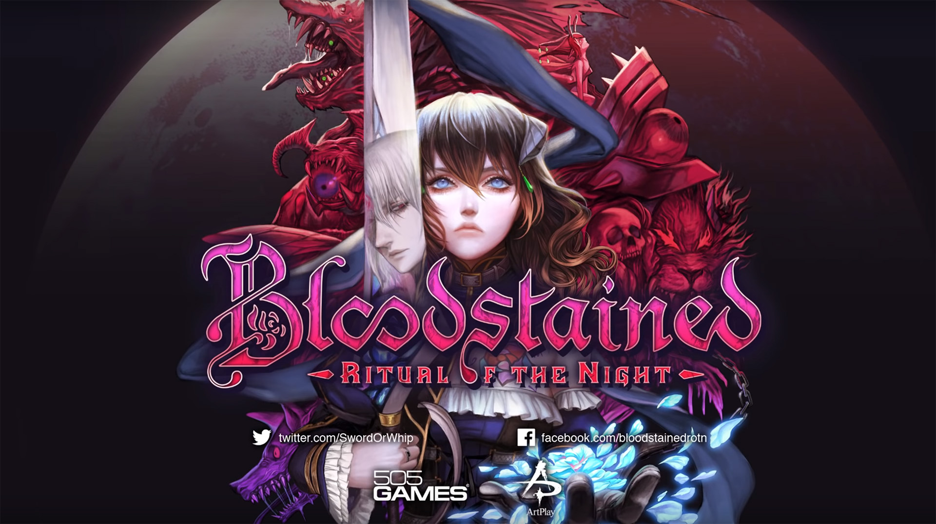 Bloodstained: Ritual of the Night circles the moon in June