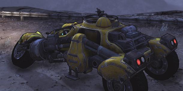 Borderlands vehicle