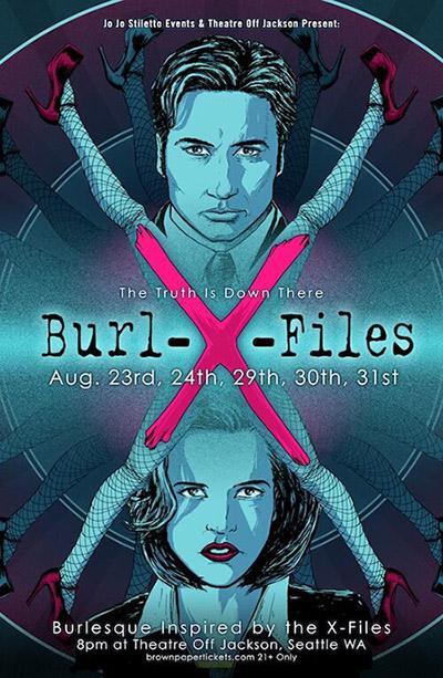 Burl-X-Files PAX Prime