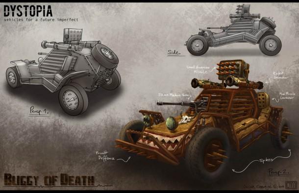 Oscar Carvajal's Buggy of Death