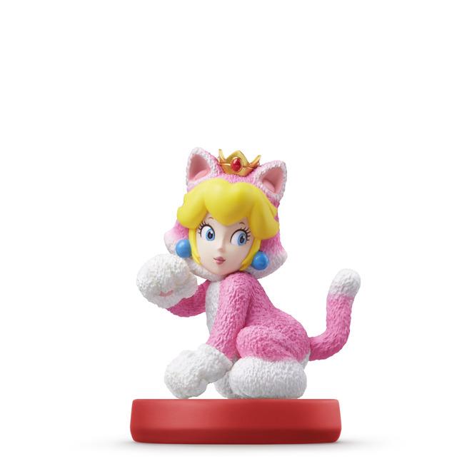 Cat Mario and Cat Peach amiibo on the way