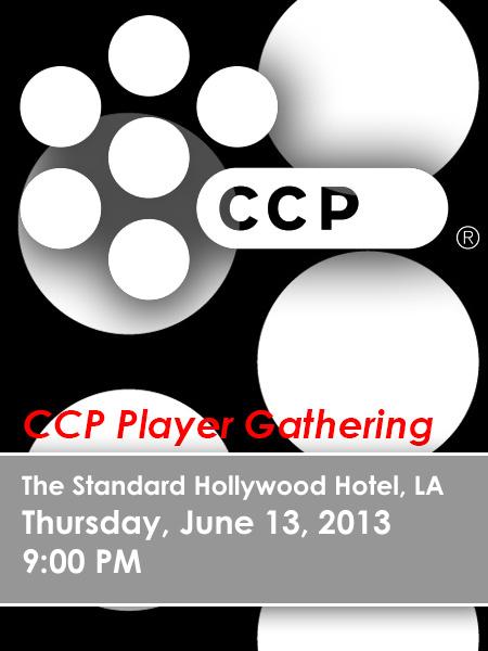 CCP Party E3 2013