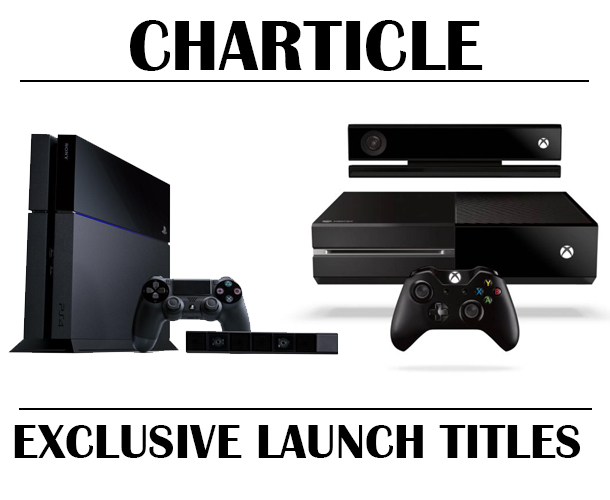 Charticle: Who has the most exclusives? Playstation 4 and Xbox One launch lineups compared [Update]