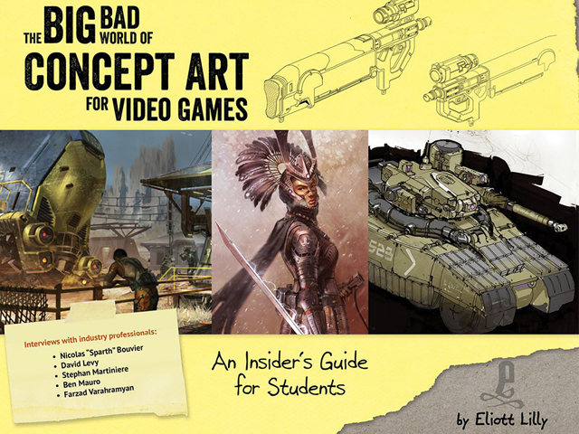 Review: The Big Bad World of Concept Art for Video Games (book)