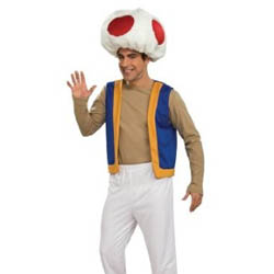 Super Mario Toad Costume