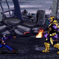 Rewatch Avengers: Endgame in 16bit glory