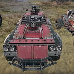 Crossout's mortar combat arrives on Early Access