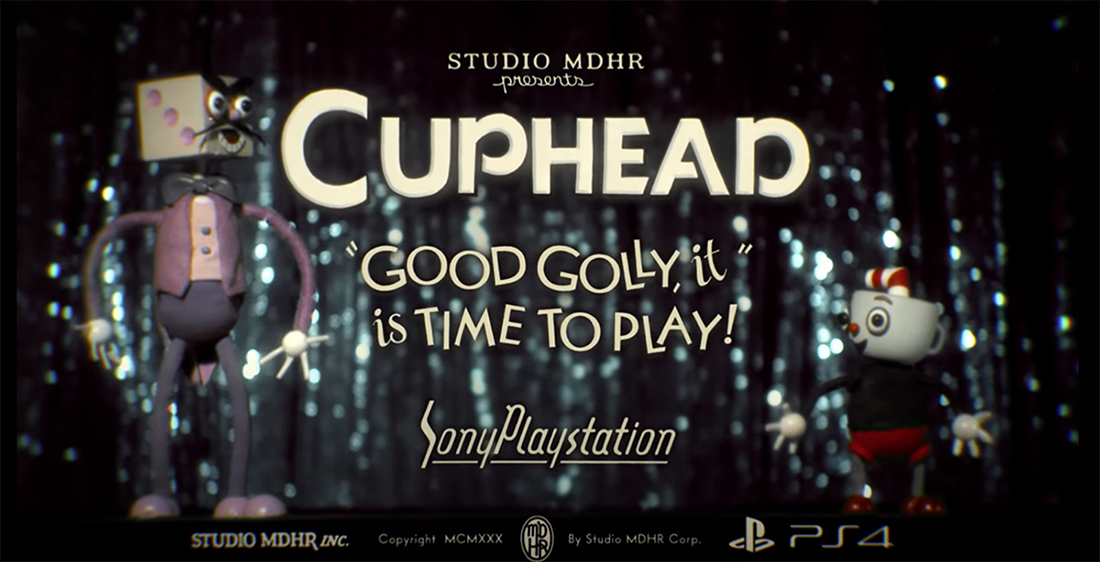 Cuphead lands on PS4