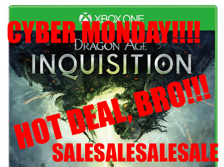 Happy Cyber Monday Deals! Grab Dragon Age Inquisition on sale (and more)!
