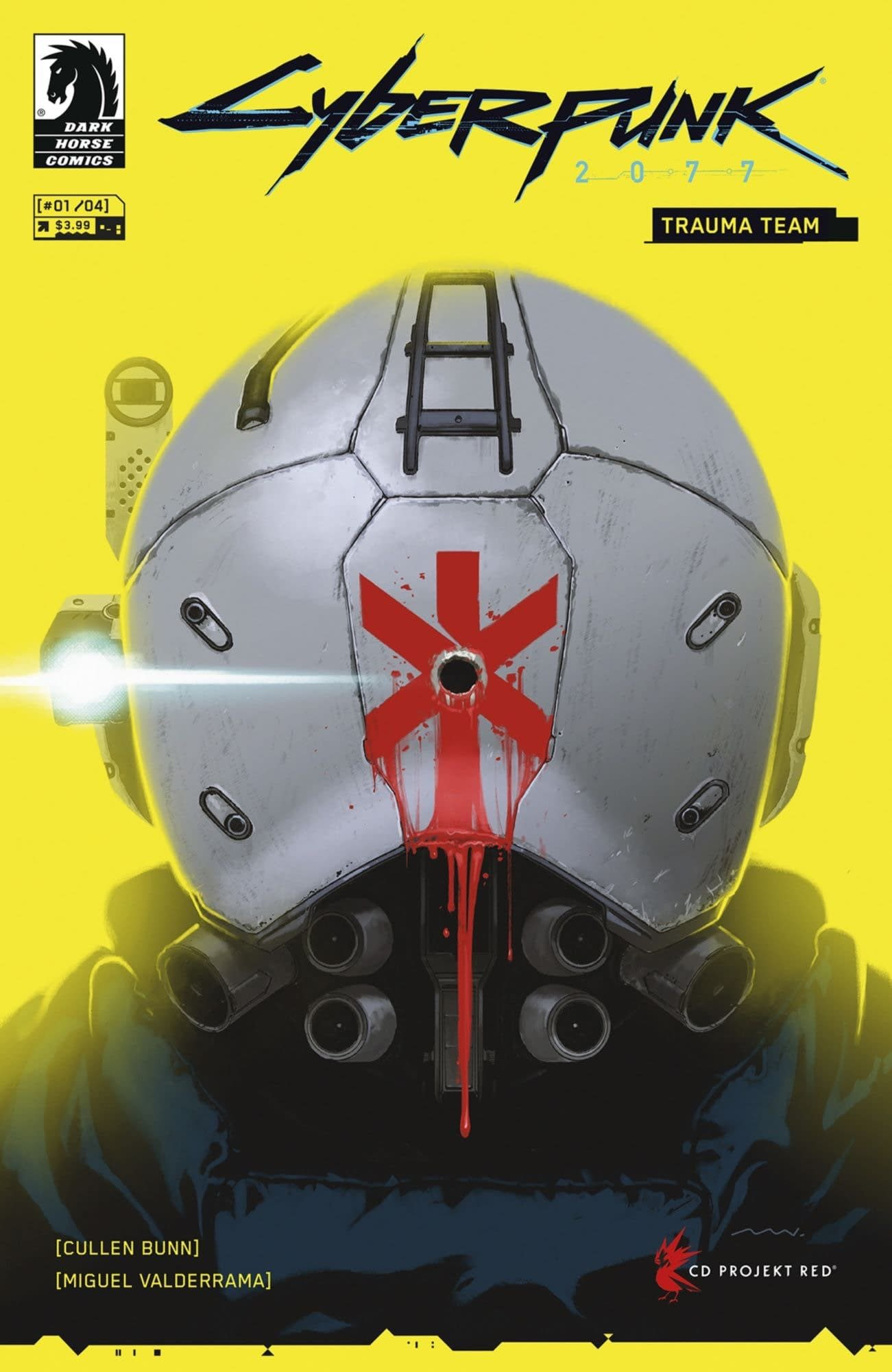 There's also a Cyberpunk 2077 comic book coming