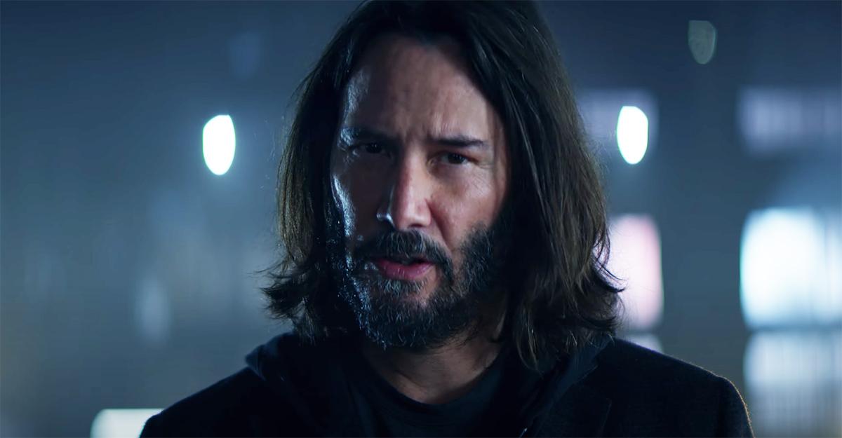 Cyberpunk 2077 debuts new commercial starring Keanu