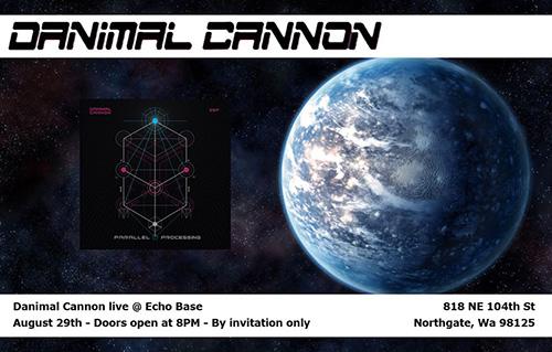 Danimal Cannon PAX Prime party
