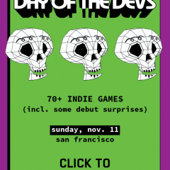 The 6th Annual Day of the Devs arrives November 11