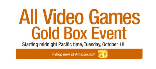 Amazon October 18th Video Game Gold Box Event