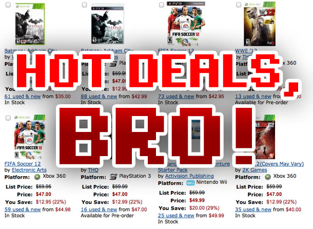 This week's amazing game deals lead up to Black Friday