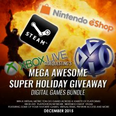 SIDEQUESTING'S MEGA AWESOME SUPER HOLIDAY GIVEAWAY 2015: Digital Games Bundle! [UPDATE]