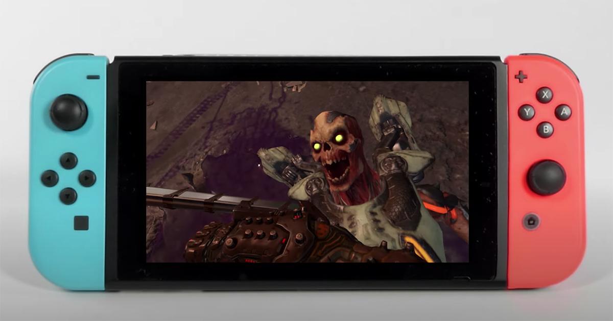 DOOM Eternal finally lands on Switch on December 8