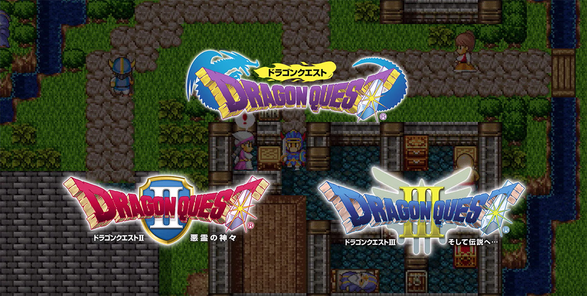 Dragon Quest I, II, III coming to Switch