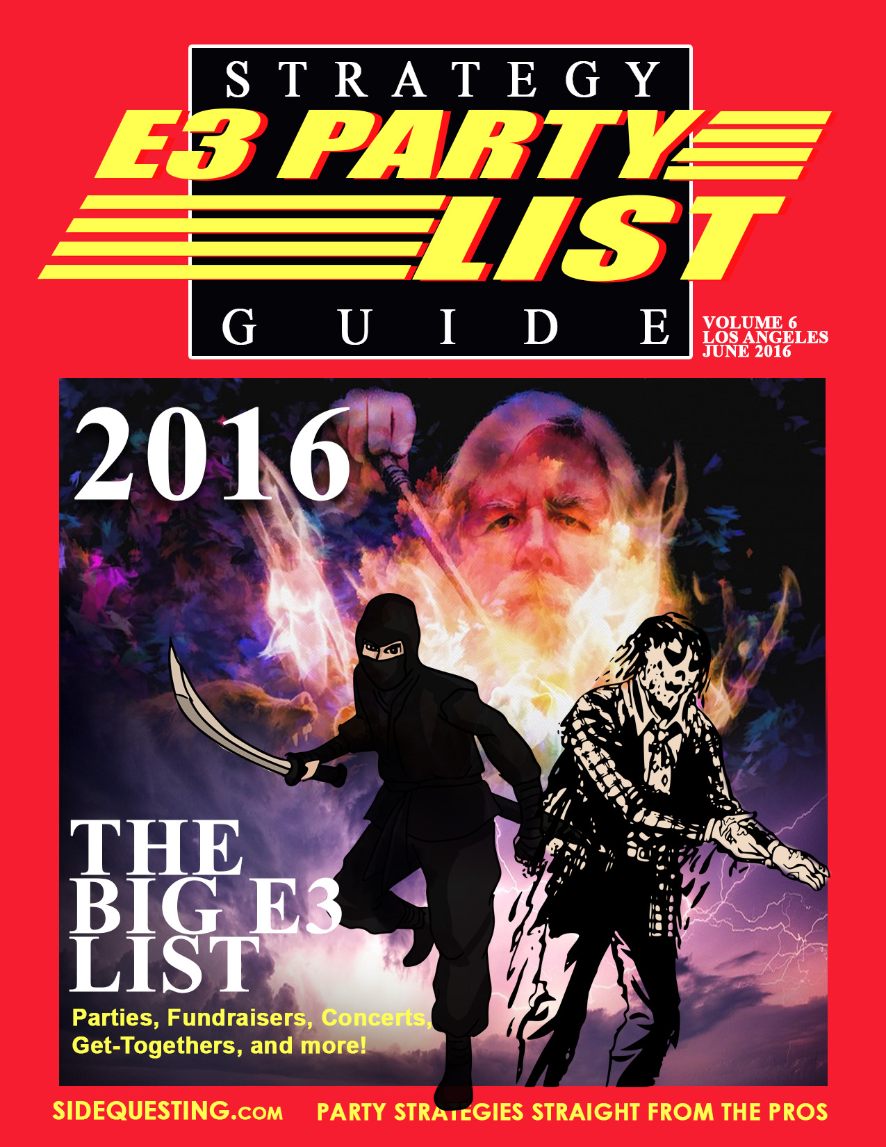 The BIG E3 2016 Party List: Parties, Events, Fundraisers and more!