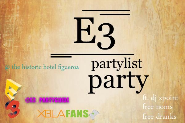 e3 party bash