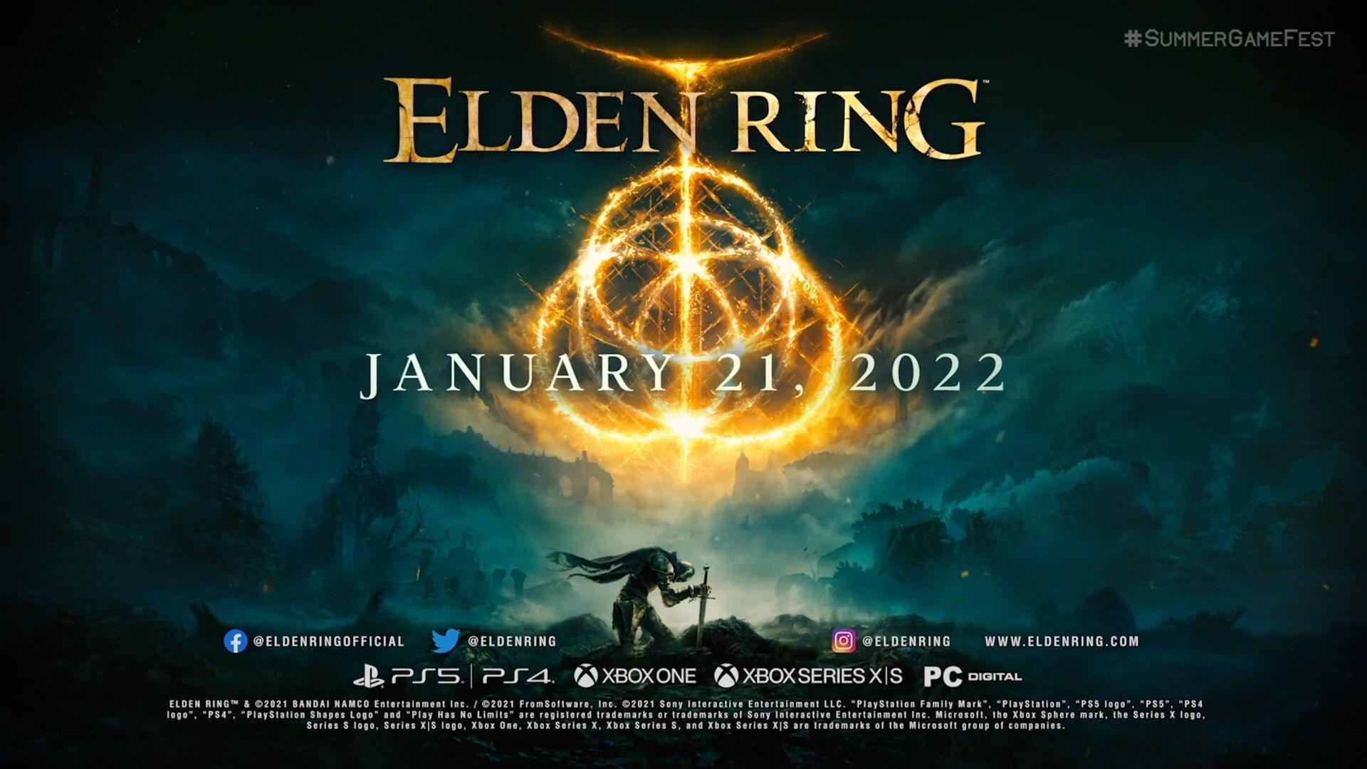 Elden Ring release date revealed at Summer Game Fest