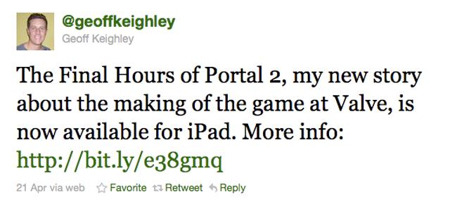 #FollowFriday: Geoff Keighley @geoffkeighley