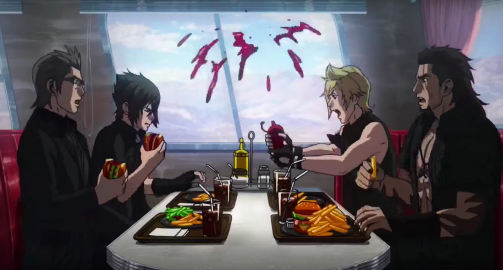Five Part Final Fantasy Xv Prequel Anime Announced Brotherhood