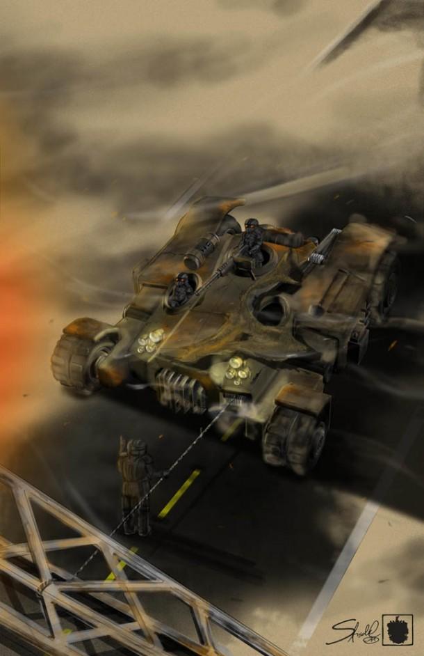 Sebastian Fischl's Tank
