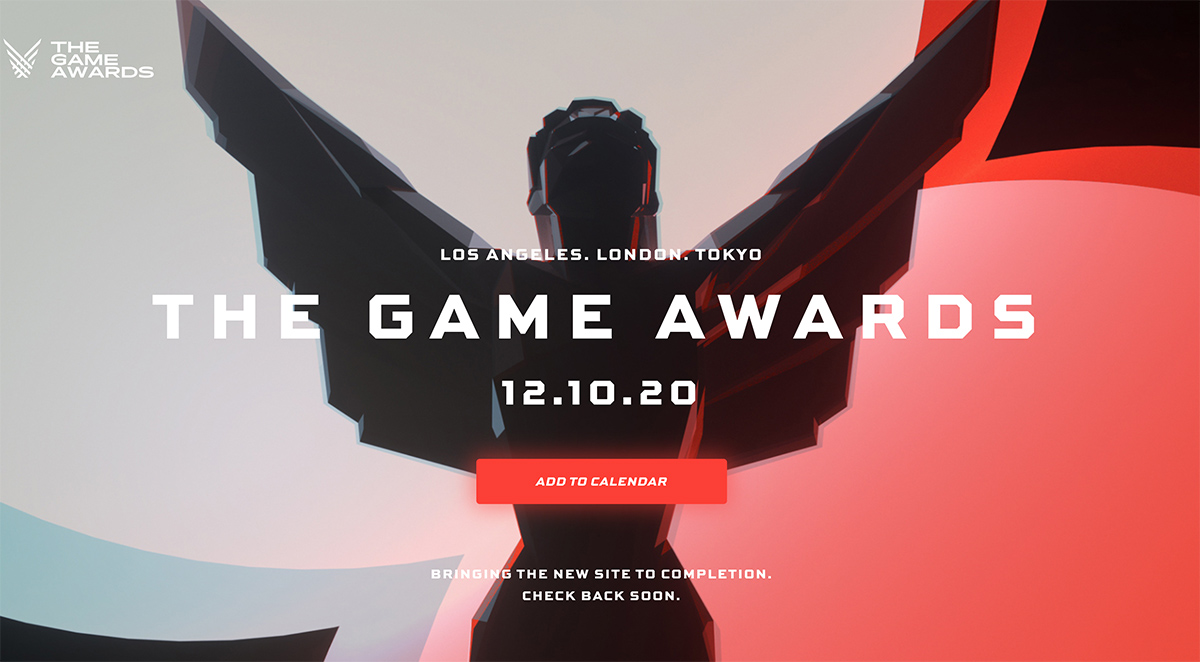 The Game Awards arrive December 10
