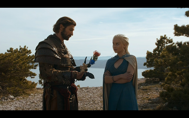 I liked you better with longer hair, Daario