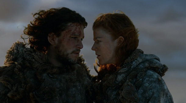 Game of Thrones Season 3 Episode 6 Jon Snow Ygritte