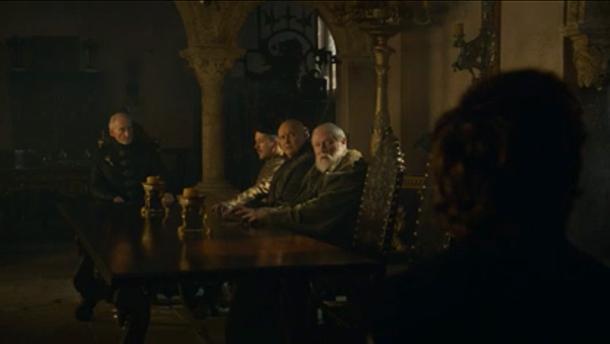Game of Thrones Season 3 Episode 3 small council