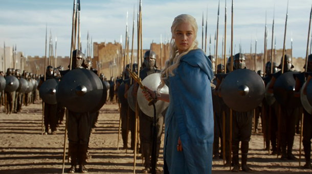Game of Thrones Season 3 Episode 4 Daenerys