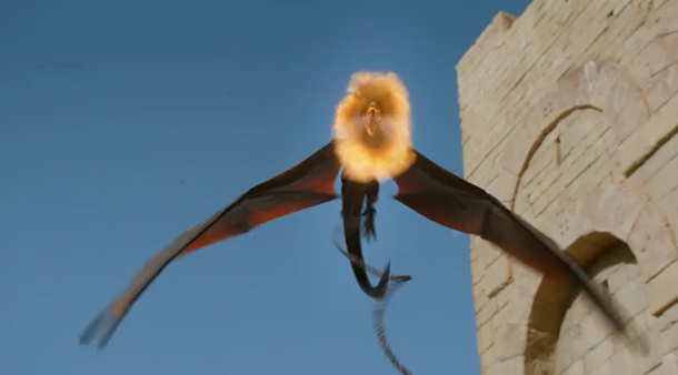 Game of Thrones Season 3 Dragon