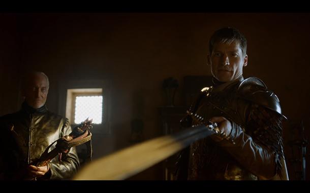 Jaime Tywin Game of Thrones Season 4