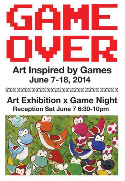 game-over-art-e3-exhibit-2014
