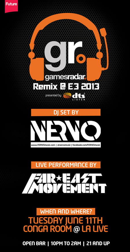 Gamesradar E3 2012 Remix Party