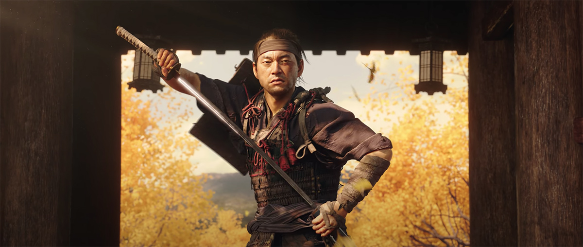 Ghost of Tsushima debuts new trailer