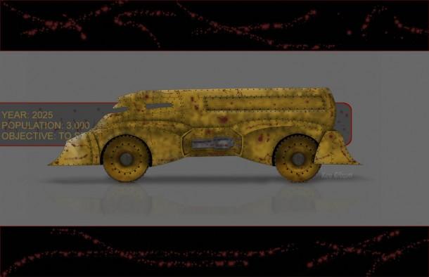 Ken Gibson's Road Tank