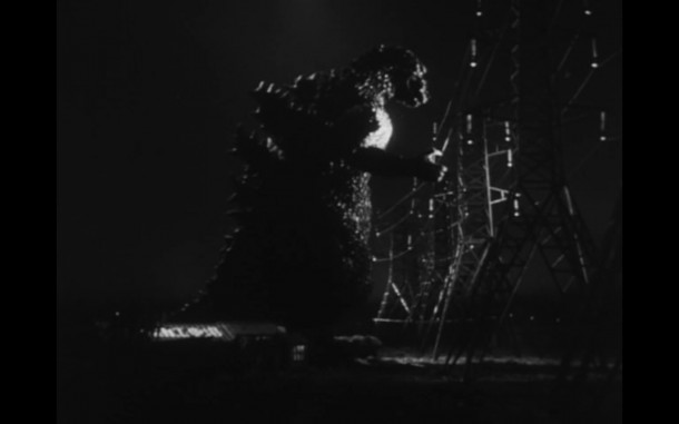 Godzilla, the giant dark shadow cast on the Earth