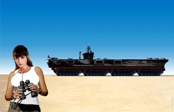 "Chris Greazel's ""Land of Lincoln"" Battle Cruiser - 1"