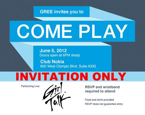 Gree E3 Party